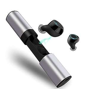 Bluetooth イヤホン 完全 ワイヤレス イヤホン HEiRBLS 自動ON/OFF 自動ペアリング ブルートゥース イヤホン HIFI高音質 Siri対応 左右分離型 両耳 スライド式充電ケース付き iPhone Android 対応 S2