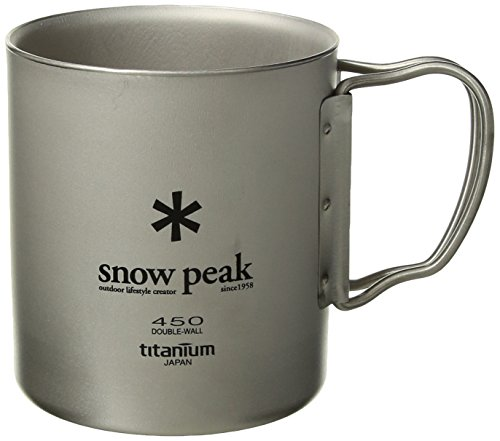 RoomClip商品情報 - スノーピーク(snow peak) チタン ダブルマグ 450 [容量450ml] MG-053R