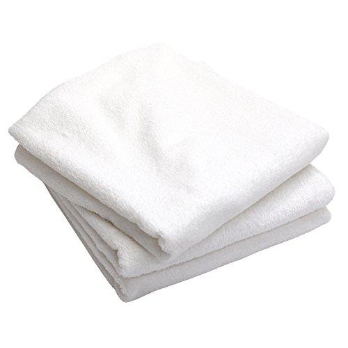 白タオル 業務用 泉州バスタオル 800匁 3枚セット 日本製 泉州タオル オフホワイト #Home #B00TQQA2S4