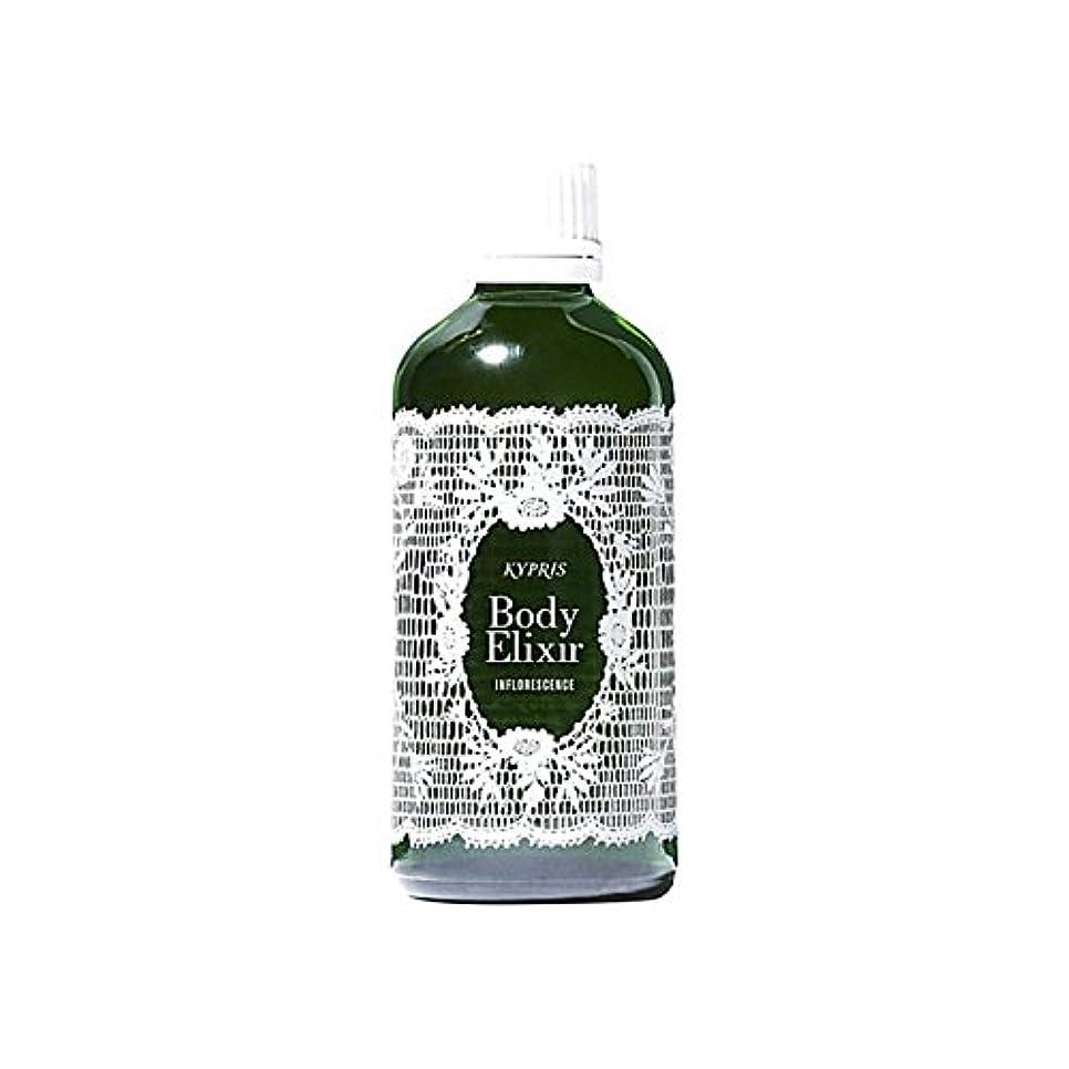 豊富に普通のジャンピングジャック体-花序100ミリリットル x4 - Kypris Body Elixir- Inflorescence 100Ml (Pack of 4) [並行輸入品]