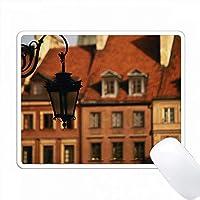 ポーランド、ワルシャワ。旧市街マーケットプレイス。 PC Mouse Pad パソコン マウスパッド