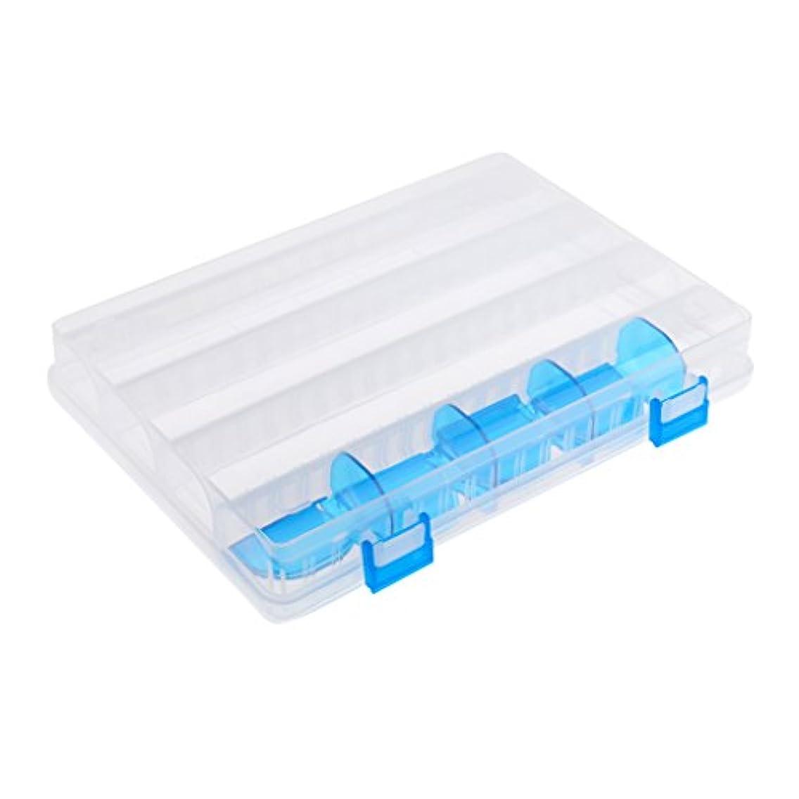 見通ししたい食品Fenteer フック ベイト  収納ケース  プラスチック製  釣りタックルボックス  ボックス  ホワイト  調節可能  保管