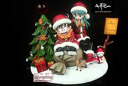 ドラゴンボール クリスマスのお祝い 悟空VSブルマ 幼少期