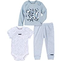 Calvin Klein Baby Boys 3 Pieces Pants Set