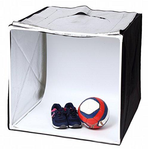 Tommy Caros ( トミー キャロス ) フォトスタジオ 撮影ボックス 撮影キット 撮影ブース 折り畳み式 スタジオボックス 簡易スタジオ 70cm