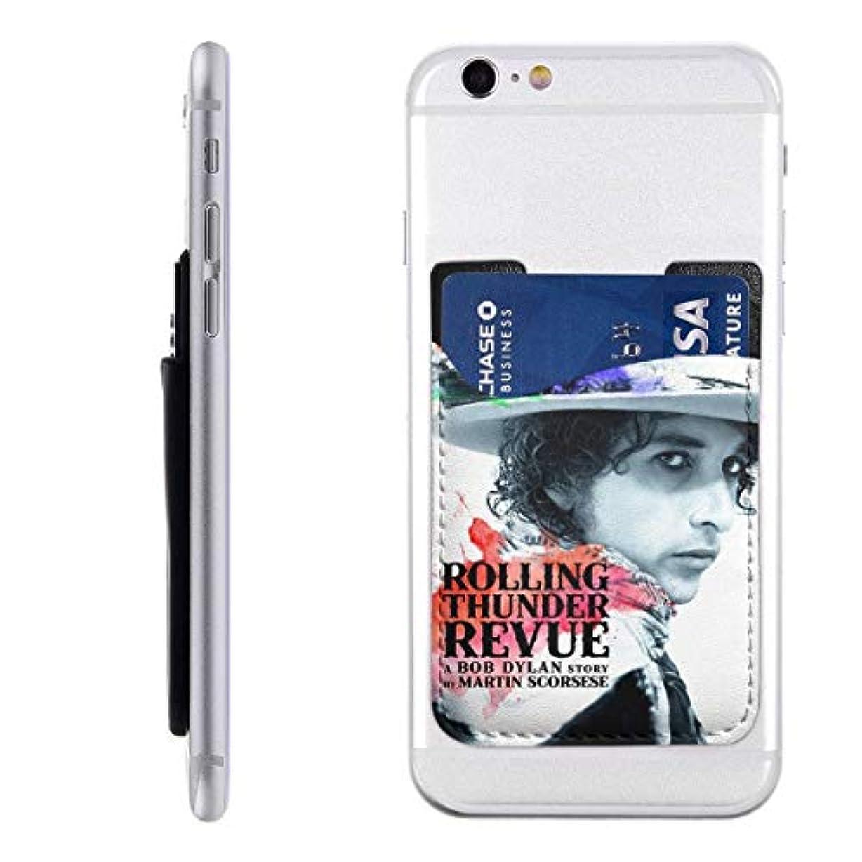 充実シェード記念カードケース A Bob Dylan Story  スマホ背面 カードポケット 全機種対応 外出便利 小物収納 ステッカーポケット