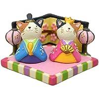 おひなさまノーティー マスコット4点セット(ネコ セット)
