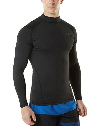 (テスラ)TESLA メンズ ラッシュガード スイムシャツ [UVカット UPF50+・吸汗速乾] MSR19-BLK_M