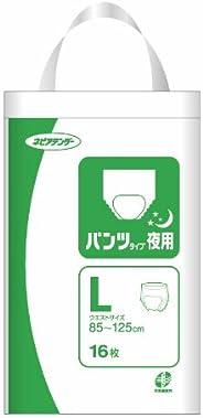 ネピアテンダー パンツ タイプ夜用 L 16枚【ADL区分:立てる・座れる方】