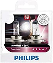Philips Power Vision Plus 60% H11 12V globes - twin display pack