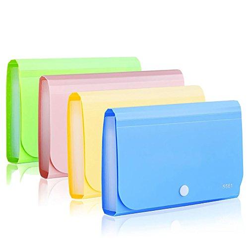 [해외]13 포켓 귀여운 미니 확장 파일 폴더 파우치 오피스 용품/13 Pocket Cute Mini Expansion File Folder Pouch Office Supplies