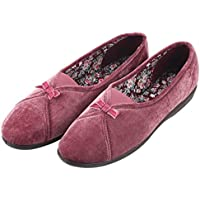 Courtaulds Moccasin Lady's Slippers, Maisie Series, Comfort Indoors/Driving