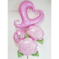 バルーンブーケ ハグスとバラの誕生日お祝い