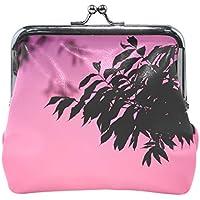 がま口 財布 口金 小銭入れ ポーチ ピンク むらさき Jiemeil バッグ かわいい 高級レザー レディース プレゼント ほど良いサイズ