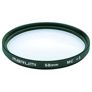 MARUMI カメラ用フィルター  クローズアップレンズ MC+3 62mm 近接撮影用 033107