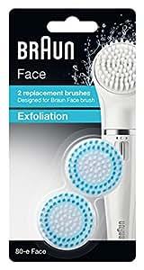 ブラウン 80-e Face ブラウンフェイス洗顔ブラシ 角質ケア用