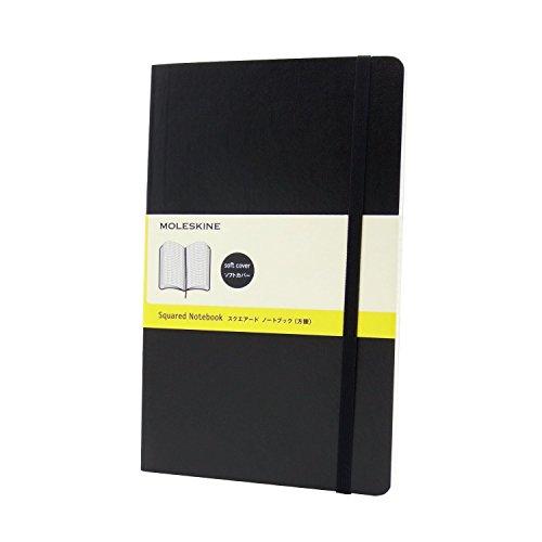 モレスキン ノート クラシック ソフト 方眼 ラージ QP617 黒