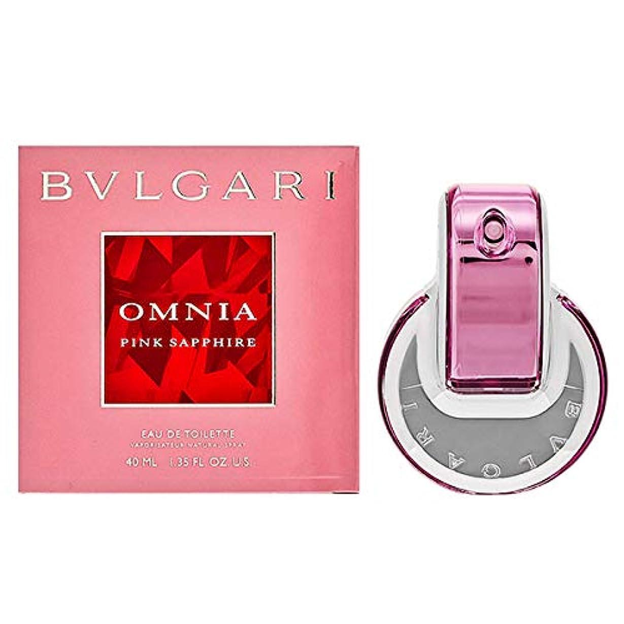 平らにする自然公園流暢ブルガリ BVLGARI レディース 香水 フレグランス 女性 ピンク サファイヤ EDT オードトワレ 40ml [並行輸入品]
