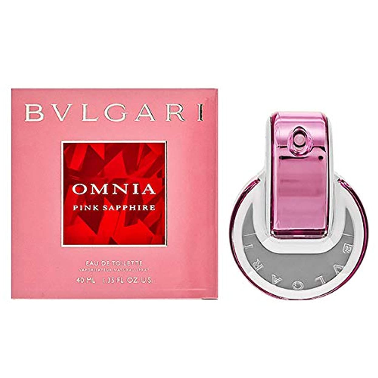 非互換スライムうるさいブルガリ BVLGARI レディース 香水 フレグランス 女性 ピンク サファイヤ EDT オードトワレ 40ml [並行輸入品]