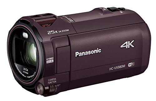 Panasonicデジタル4KビデオカメラVX980M64GBあとから補正ブラウンHC-VX980M-T