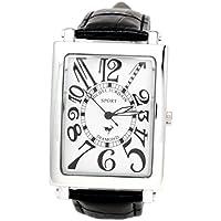 [ミッシェルジョルダン]michel Jurdain 腕時計 スポーツ ダイヤモンド レザー ホワイトxブラック メンズ SG-3000-7  メンズ