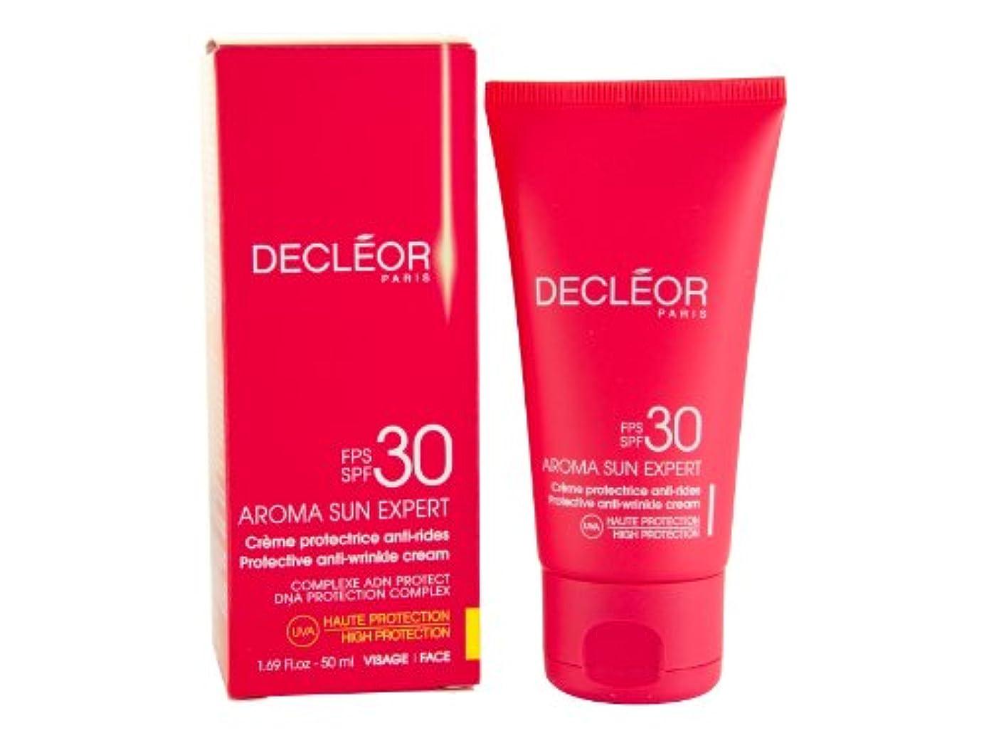 不規則な冬大人デクレオール(DECLEOR) プロテクティブ サンクリーム 50g(日焼け止めクリーム)SPF30
