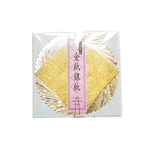 [해외]TAYU-TAFU (たゆたふ) 색종이 금 지 은종이 작은 종이 접기/TAYU - TAFU Irogafu Gold Paper Silver Small Origami