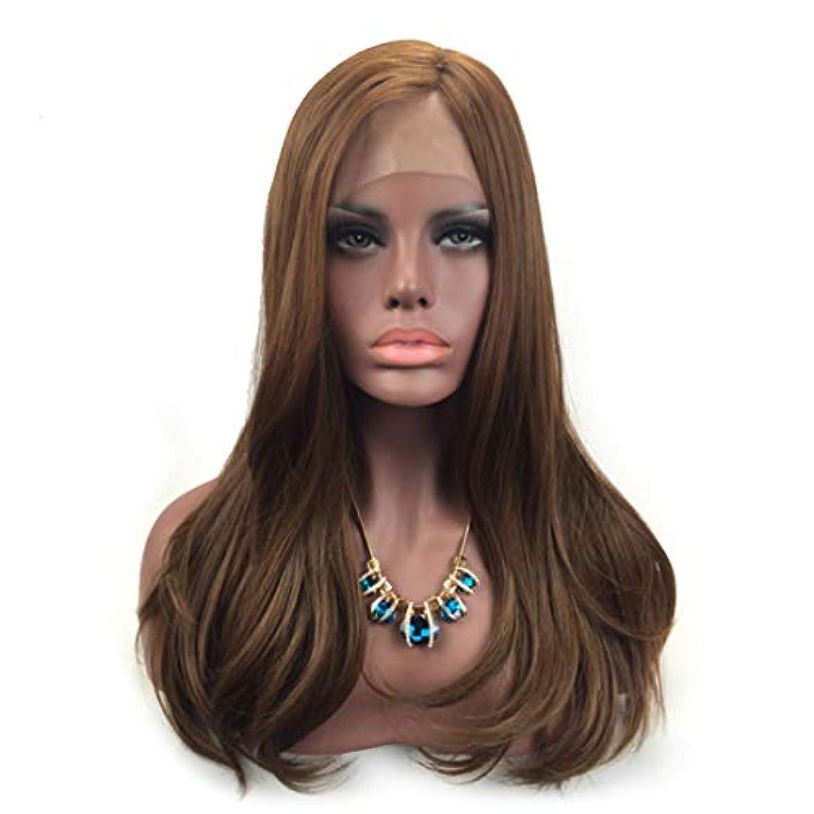 かなりの障害者おもちゃFuku つけ毛 前髪ブロンドのハイライトストレート合成フルウィッグ耐熱コスチュームウィッグ女性用女の子と女性用 (色 : 写真の通り)