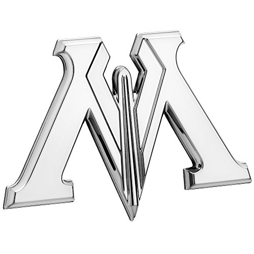 Fan Emblems Harry Potter 車のエンブレム、Chrome Ministry of Magic 3D自動車用デカールステッカーバッジ、ほとんどの滑らかな表面に完全に馴染む