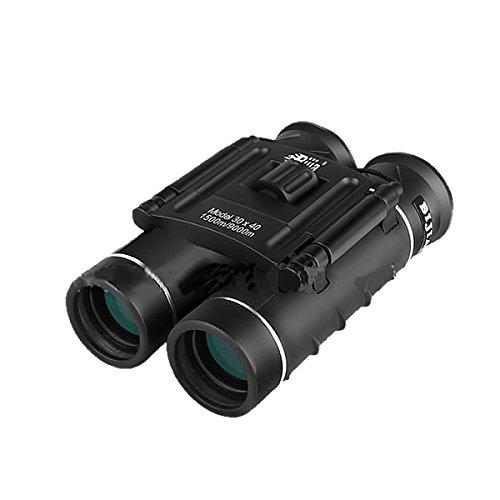 STARDUST 双眼鏡 30倍 コンパクト 手のひらサイズ スポーツ観戦 自然鑑賞 旅行 ハイキング SD-3040BK