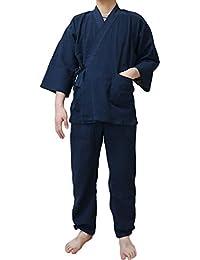 メンズ 作務衣 通年用 夏用 冬用 各種有り つむぎ ギフトに最適