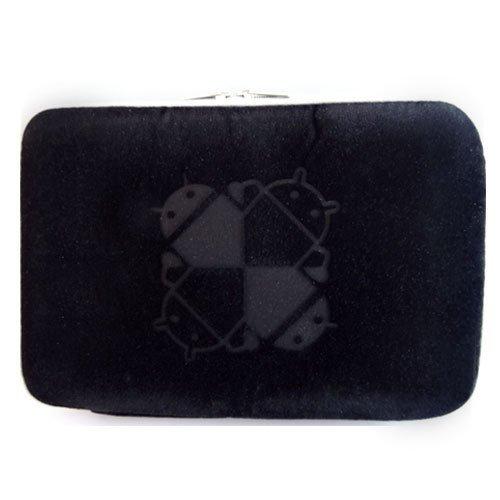 SLSC タブレットケース KAIHOU KH-MID700 [7インチ(800x480)]対応 低反発素材(ブラック)