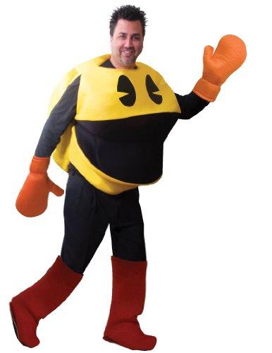 Pac-Man Deluxe Adult Costume パックマンデラックス大人用コスチューム♪ハロウィン♪サイズ:Standard (One Size)