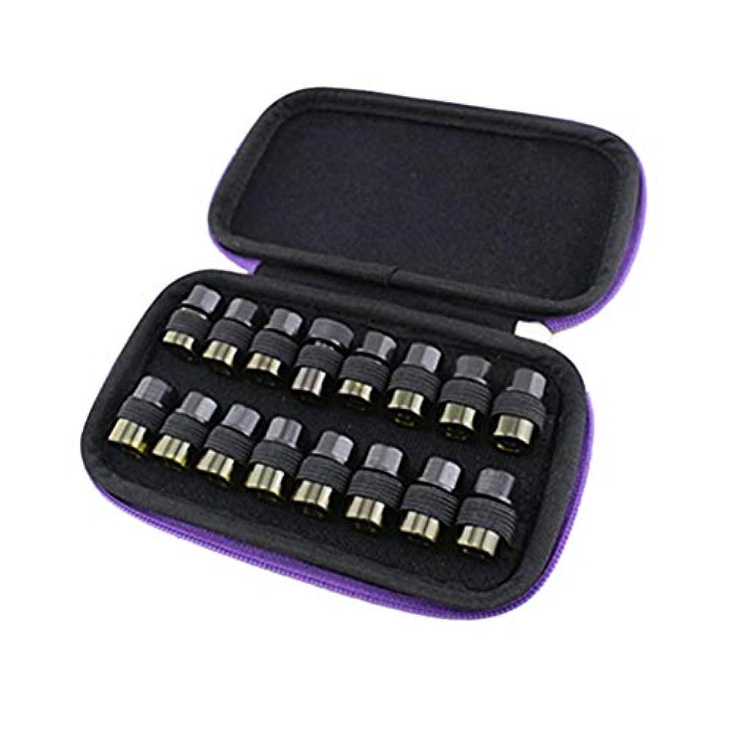 出しますデンマーク語カレンダーPursue エッセンシャルオイル収納ケース アロマオイル収納ボックス アロマポーチ収納ケース 耐震 携帯便利 香水収納ポーチ 化粧ポーチ 16本用