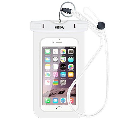 iPhone6/Samsung 防水ケース EOTW®防水携帯ケース 救助用ネックストラップ付属 IPX8 スマートフォ...