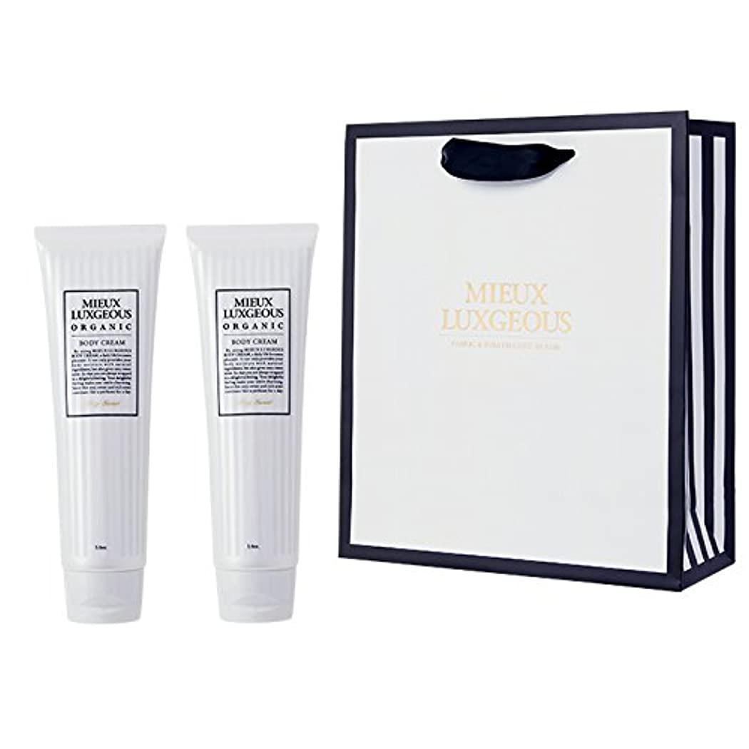 主要な公然と無謀ミューラグジャス Body Cream 2本set with Paperbag02