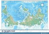 世界逆さ地図