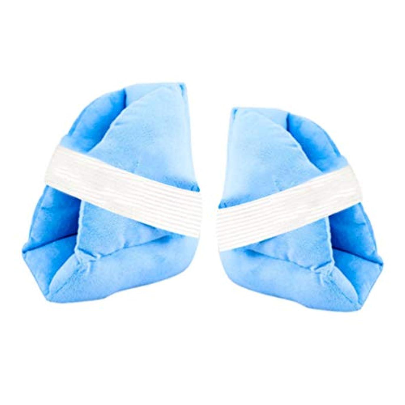 近くみがきますリンケージ柔らかく快適なヒールプロテクター枕、ヒールフロートヒールプロテクター、Pressure瘡予防のためのアキレス腱プロテクター、高齢者の足補正カバー,b