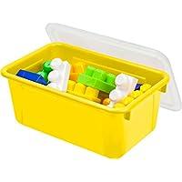 Storex Small Cubby Bin W/カバー12.2