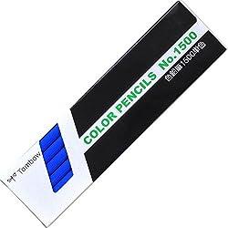トンボ鉛筆 色鉛筆 1500単色 1500-15 青 1ダース