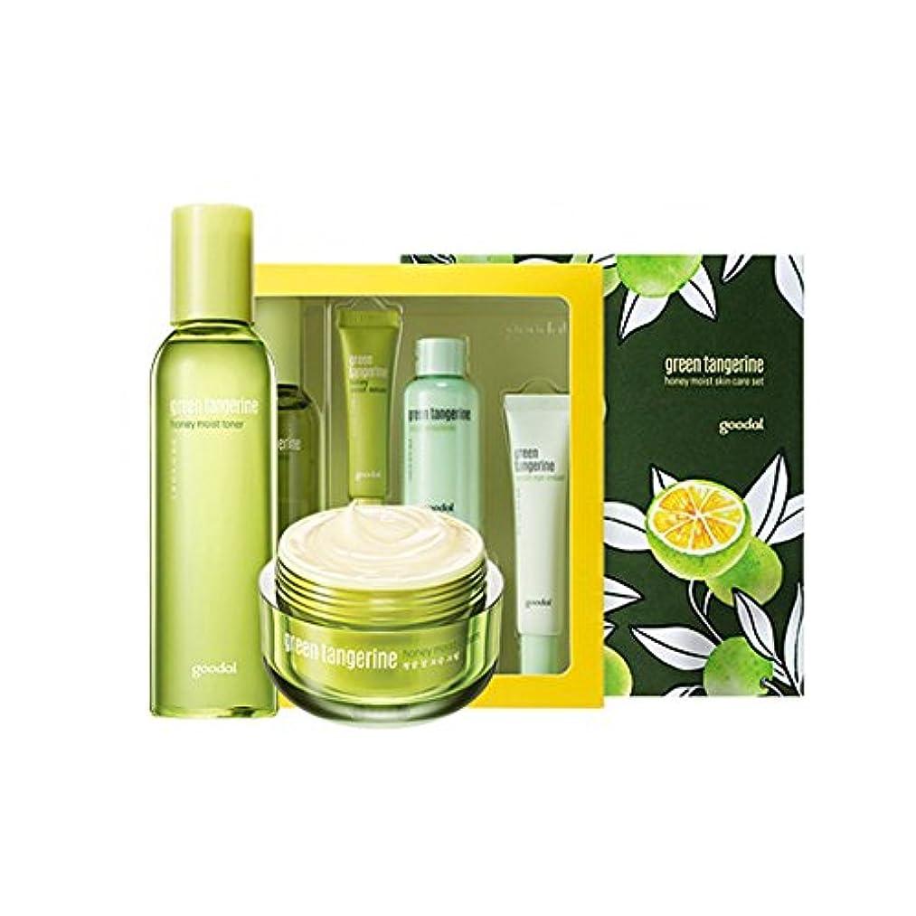 凶暴なケーキ腐食するgoodal Green Tangerine Honeyチョンギュル 水分ケアセットMoist Skin Care SET (Moist Toner + Moist Cream) [韓国並行輸入品]