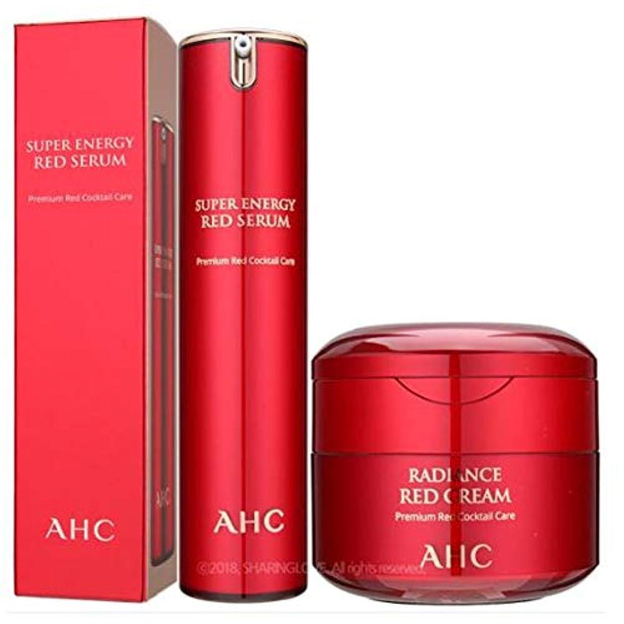 おじさん神学校巡礼者AHC Season2 Super Energy Red Serum 50ml&AHC Season2 Super Energy Red Cream 50ml [parallel import goods]