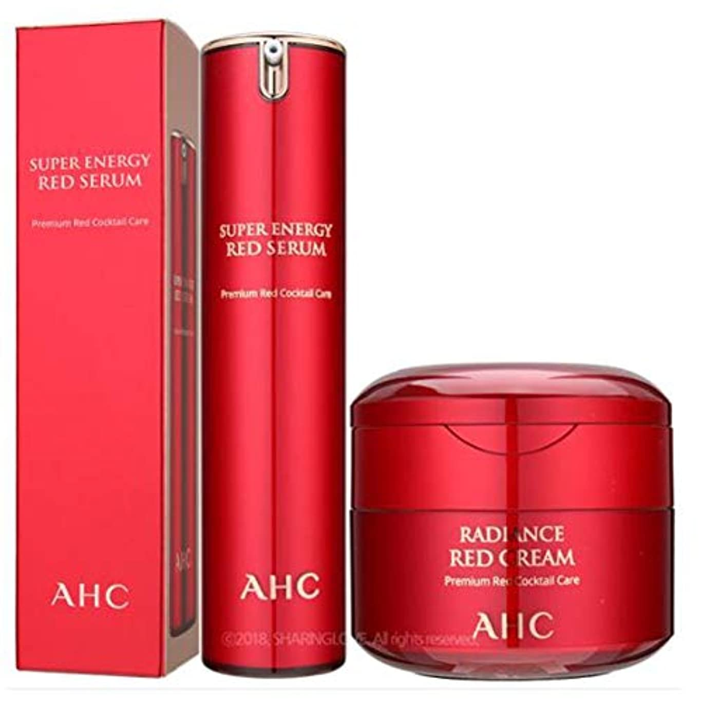 内なる伝導率土器AHC Season2 Super Energy Red Serum 50ml&AHC Season2 Super Energy Red Cream 50ml [parallel import goods]