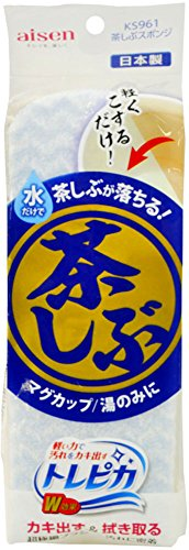 アイセン 茶しぶスポンジ KS961(1コ入)