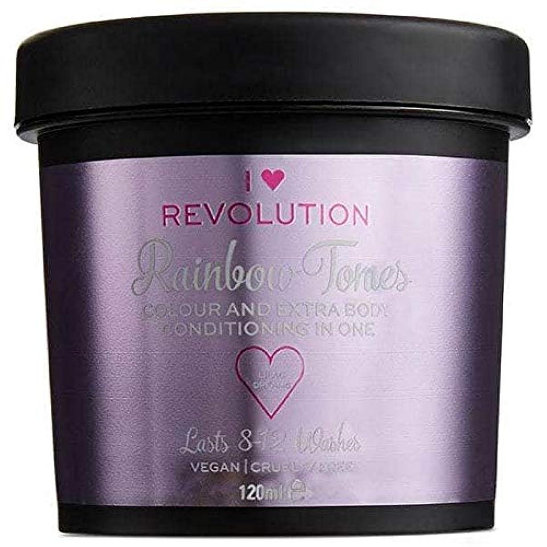透ける磁気凍った[I Heart Revolution ] 私の心の革命虹トーンライラック夢の120ミリリットル - I Heart Revolution Rainbow Tones Lilac Dreams 120ml [並行輸入品]
