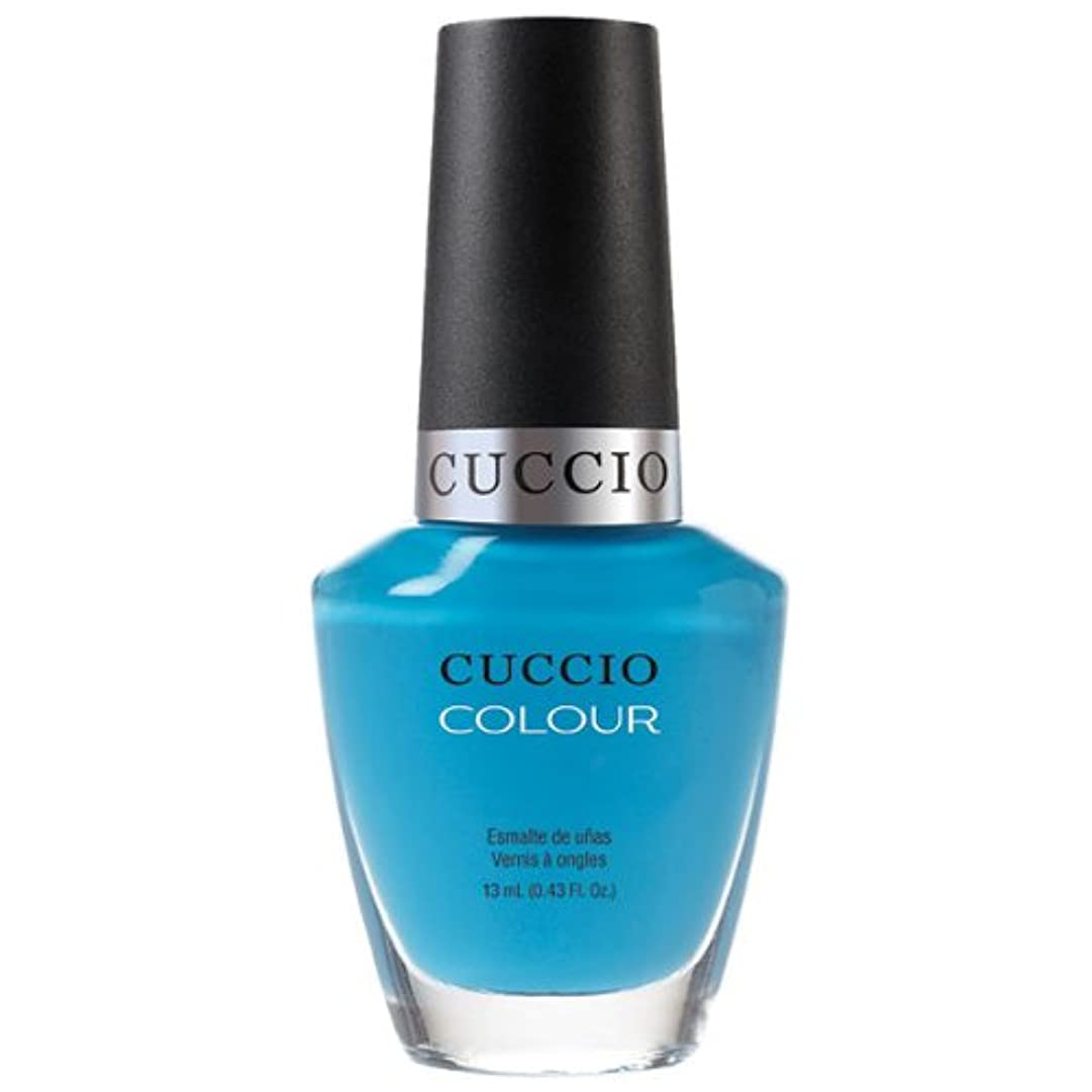 フットボールナチュラル時代Cuccio Colour Gloss Lacquer - St. Bart's in a Bottle - 0.43oz / 13ml