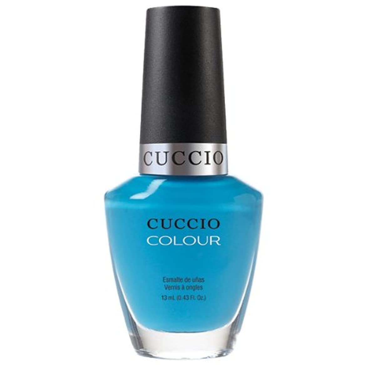 流暢スポット抵抗Cuccio Colour Gloss Lacquer - St. Bart's in a Bottle - 0.43oz / 13ml