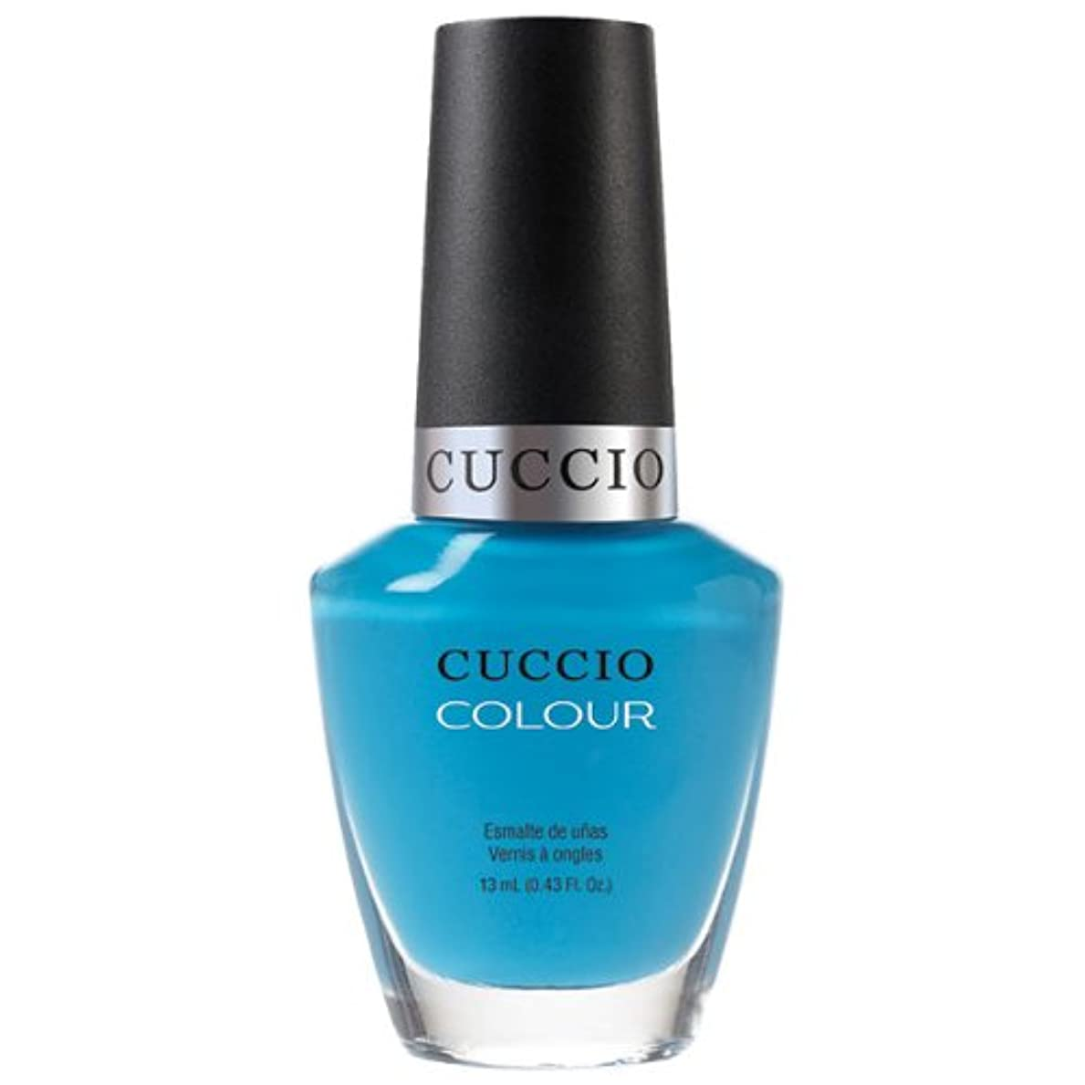 のスコア位置する伴うCuccio Colour Gloss Lacquer - St. Bart's in a Bottle - 0.43oz / 13ml