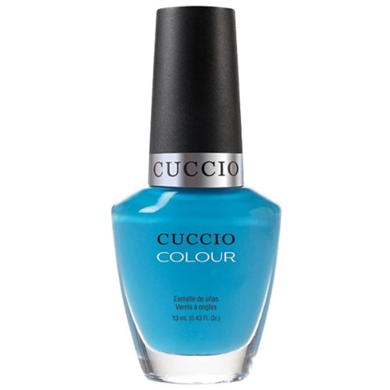 そこアシスタント女の子Cuccio Colour Gloss Lacquer - St. Bart's in a Bottle - 0.43oz / 13ml