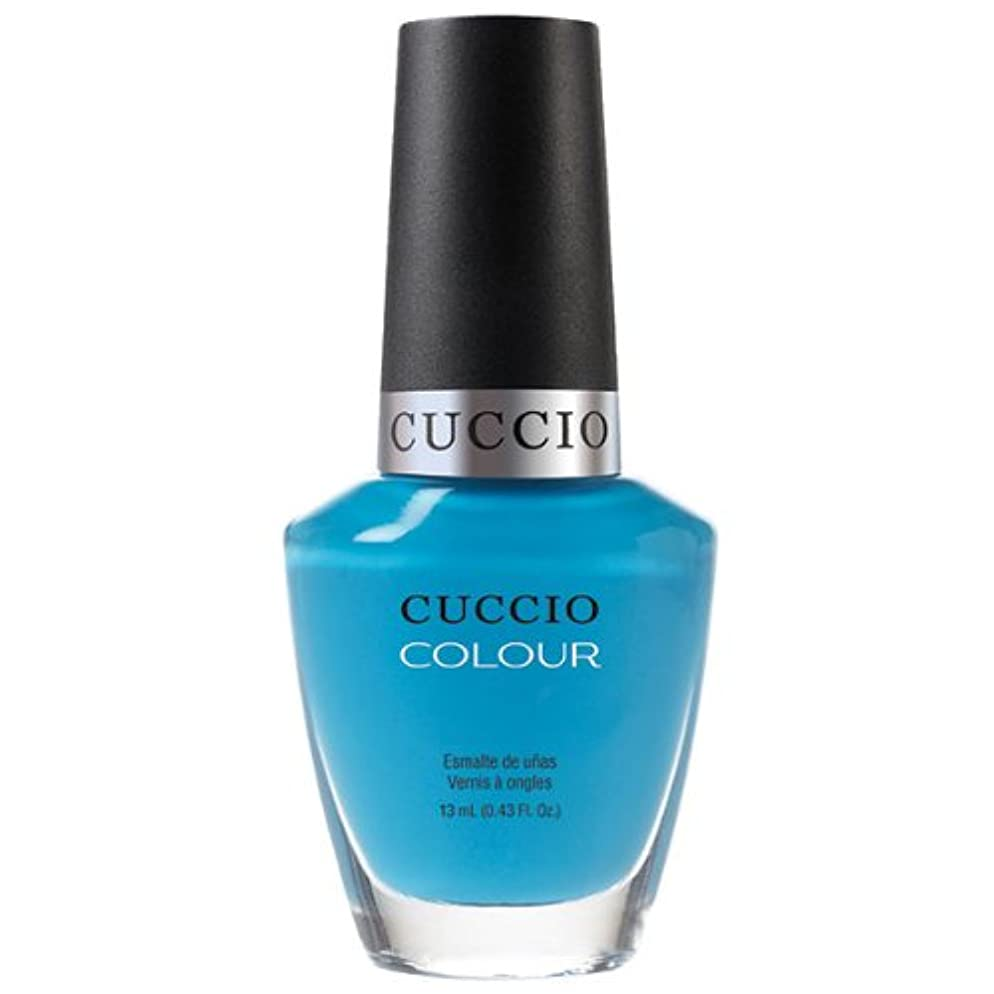 番目ビバ要旨Cuccio Colour Gloss Lacquer - St. Bart's in a Bottle - 0.43oz / 13ml